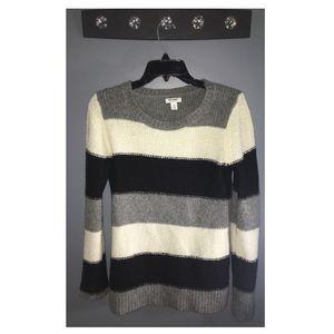 B&W Striped Sweater ϟ